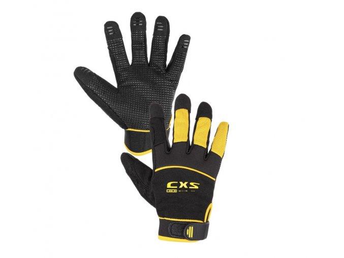 Kombinované rukavice pro montéry orca