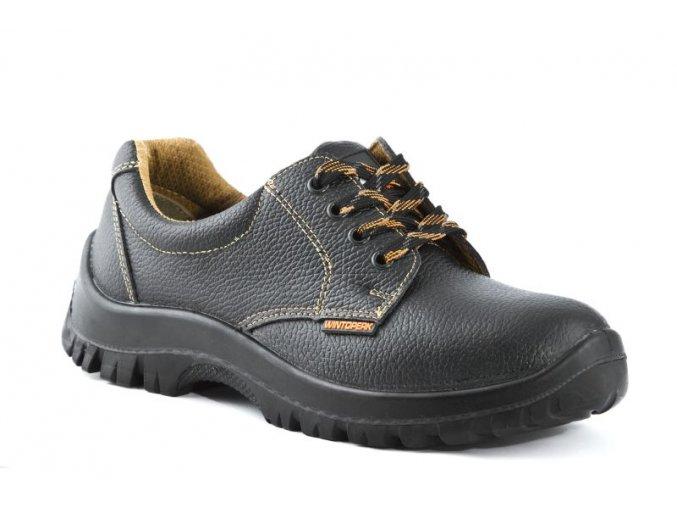 kožená pracovní obuv alfa