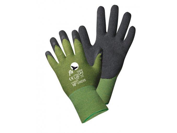 Bambusové pracovní rukavice virdis obě