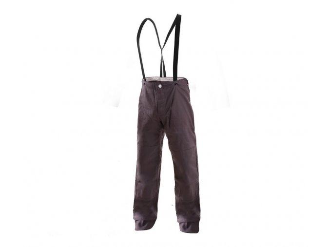 Nehořlavé svářečské kalhoty kevlar