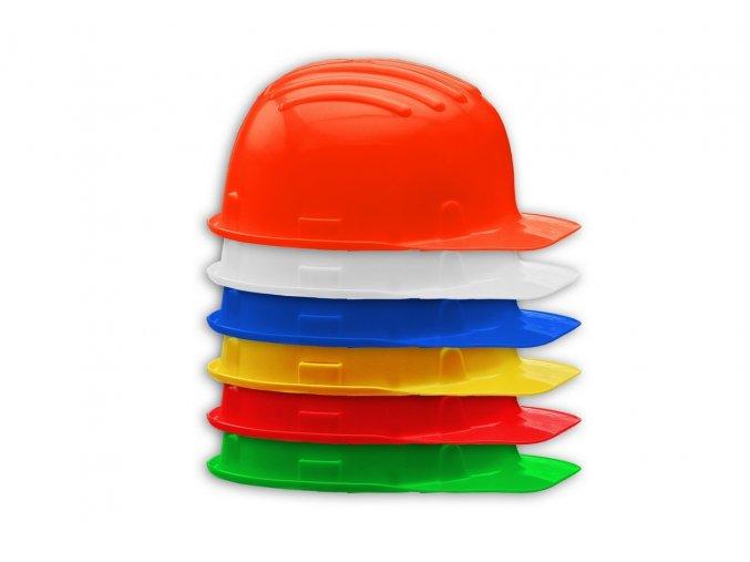 stavebni prilba stavbar vícero barev