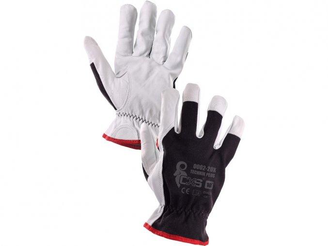 Montérské pracovní rukavice technic plus
