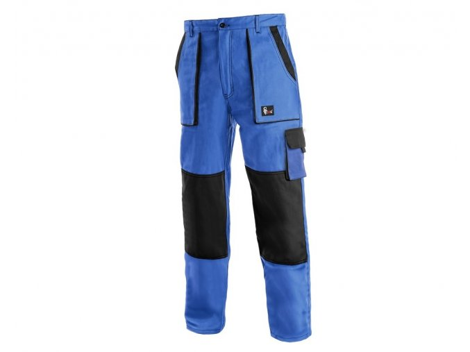 Monterkove kalhoty luxy josef modre