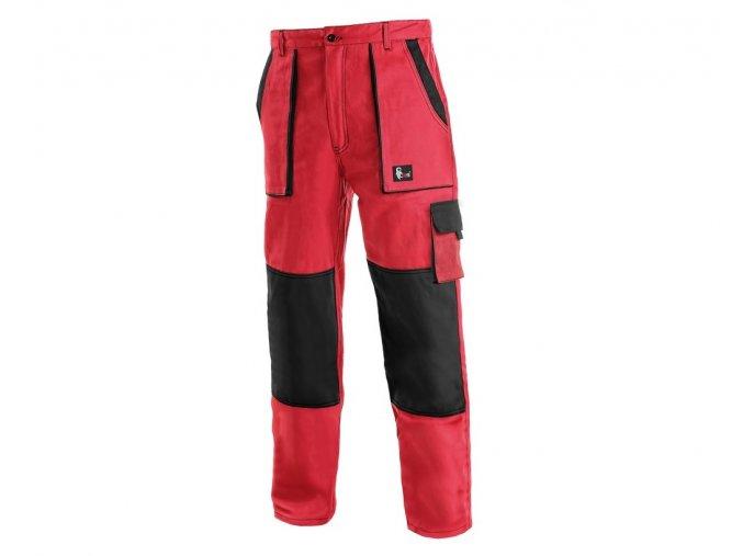 Monterkove kalhoty luxy josef červené