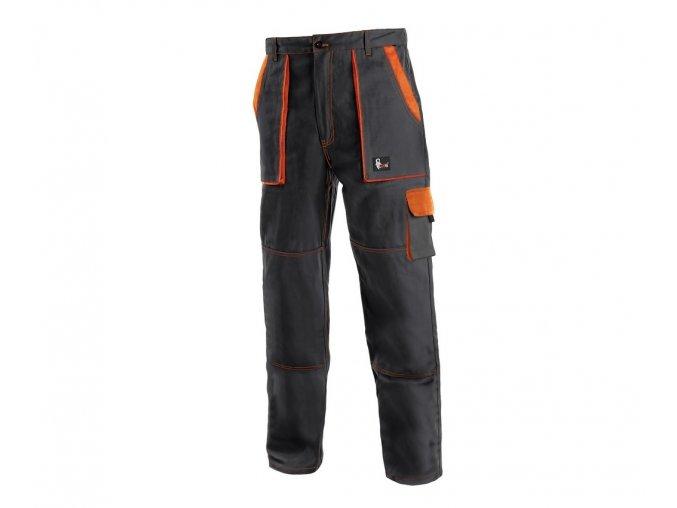 Monterkove kalhoty luxy josef černooranžové
