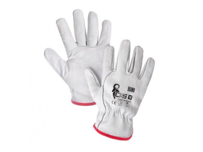 Kožené pracovní rukavice bono