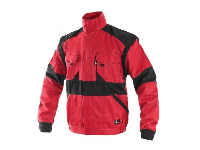 damska pracovni bluza cervena