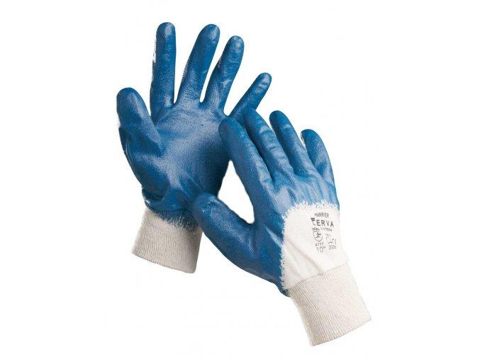 Pracovní rukavice v nitrilu