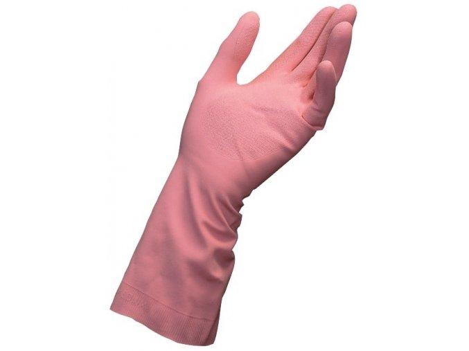 latexové rukavice mapa vital proti kyseline