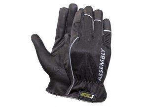 Montérské rukavice assembly