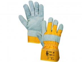 Kombinované pracovní rukavice dingo