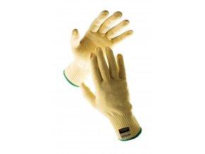 Pracovní rukavice gadwall z kevlarového úpletu