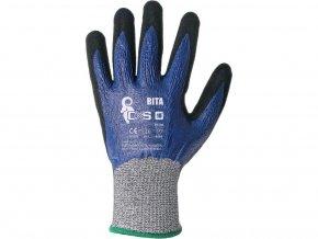 Protiřezné pracovní rukavice rita