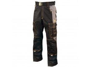 montérkové kalhoty vision černé