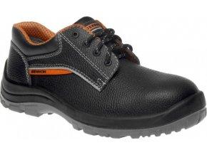 kožená pracovní obuv basic