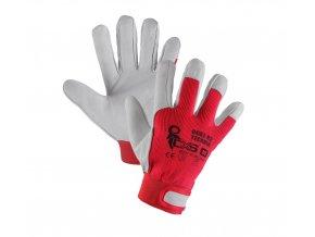 Pracovní kombinované rukavice Canis Technik na suchý zip