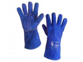 Kožené svářečské rukavice Paton velikost 11