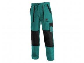Monterkove kalhoty luxy josef zelené