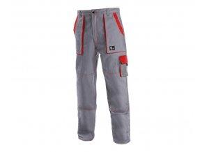 Monterkove kalhoty luxy josef šedé