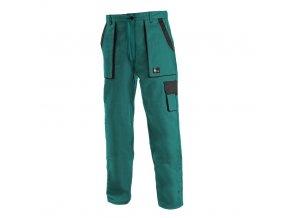 dámské monterkové pracovní kalhoty canis zelene