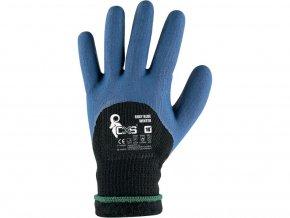 zimni pracovni rukavice roxy blue