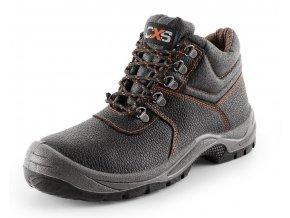 Pracovní kotníková obuv canis bez ocelové špice