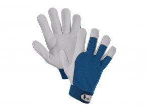 Modré rukavice Technik canis akce