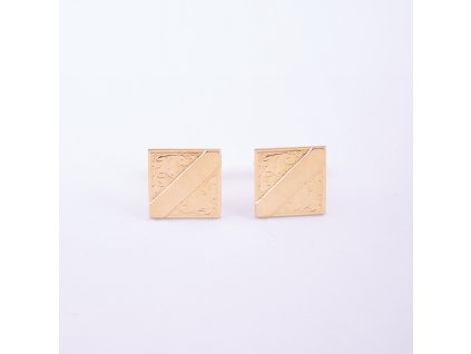 Manžetové knoflíčky čtvercové