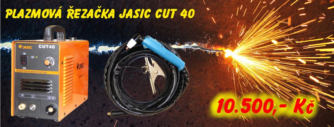 Plazmová řezačka JASIC CUT 40