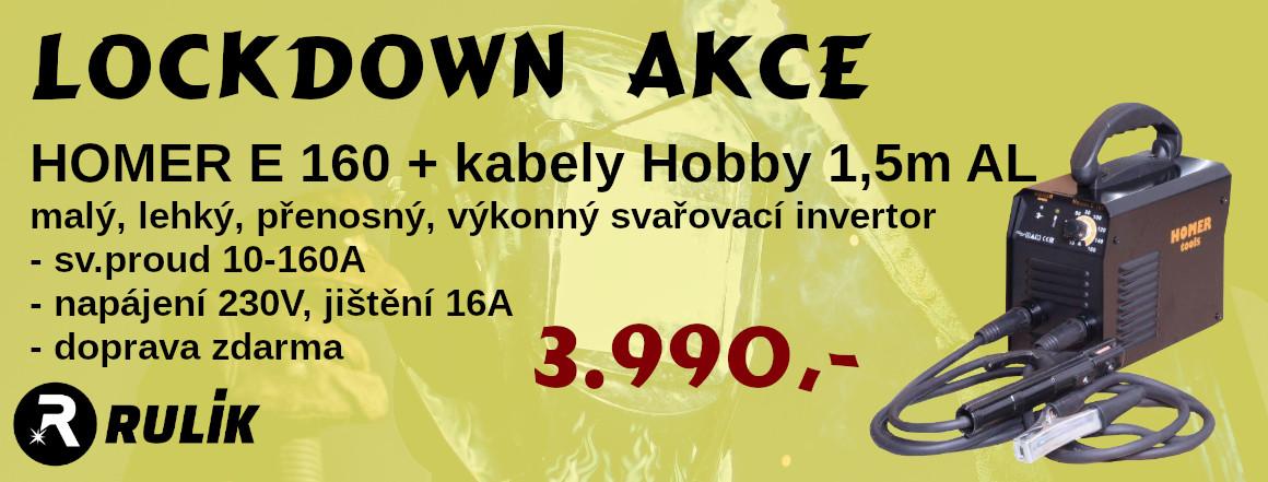 LOCKDOWN AKCE HOMER 160 + kabely Hobby