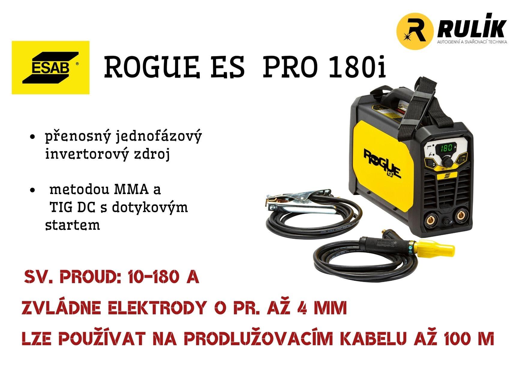 Staňte se rošťákem s novým strojem Rogue ES 180i PRO