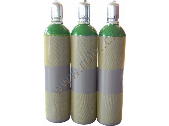 Náplň pro lahev 82%Ar+18%CO2 20litrů/200bar/4.9 m3