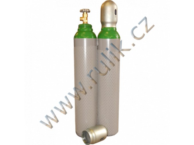 Náplň pro lahev Argon 4.8 TIG-MIG 8 litrů/200 bar