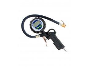 Plnič pneumatik (hustilka) s manometrem digitální
