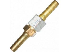 Spojka hadicová G3/8 pr.8mm (acetylen/PB) pravá, starší typ