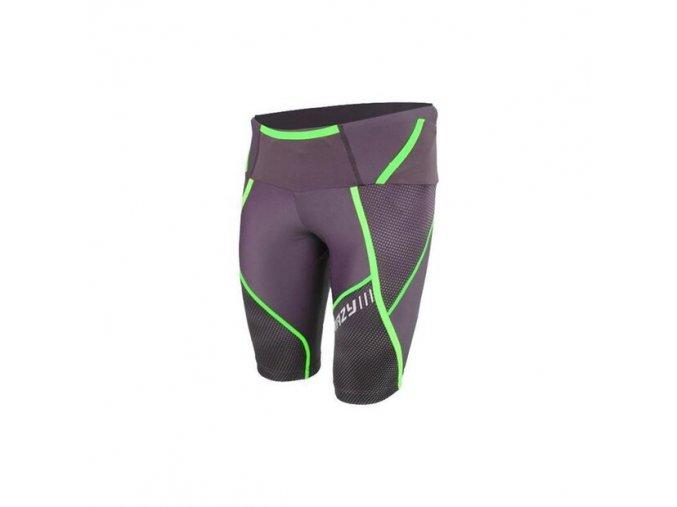 crazy idea ss17015183u umbolt shorts m black greenfluo en