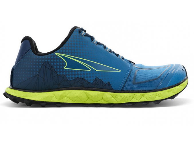 altra superior 4 5 blue lime m new