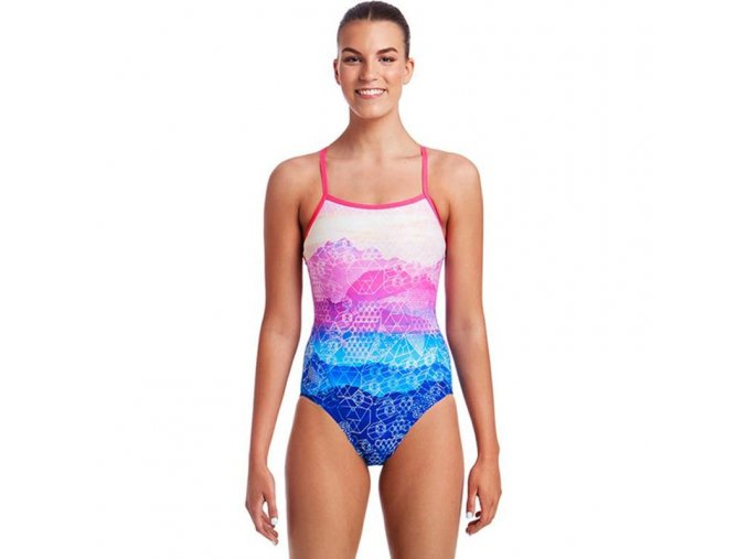 funkita mount up ladies single strap one piece swimsuit 1