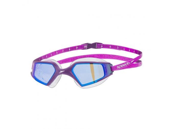 speedo aquapulse max 2 mirror goggle purple purple p24032 151872 image