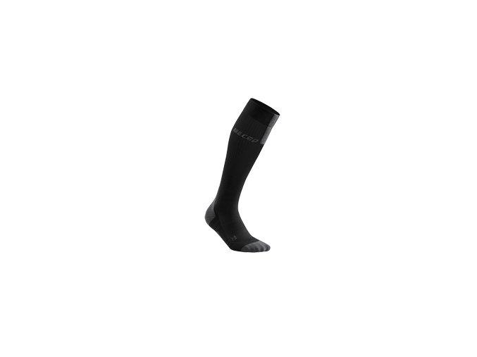 run compression socks 3 0 black dark grey