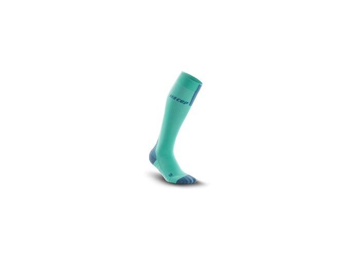 run compression socks 3 0 mint grey
