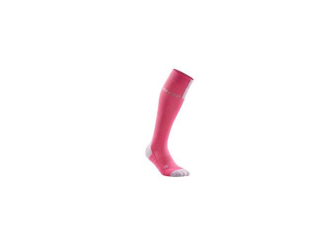 run compression socks 3 0 rose light grey