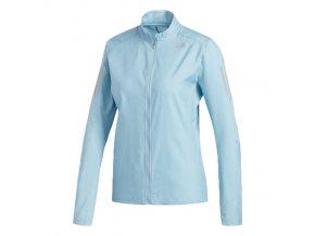 adidas own the run jacket dames blauw dq2582 9b96