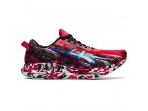 asics gel noosa tri 13 running shoe electric red black 7 999060