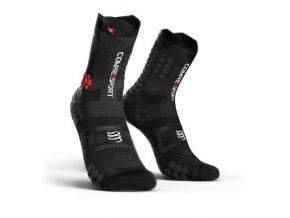 pro racing socks v3 0 trail black t1