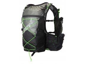 Race Ultra Pro 2in1 Vest Black Green back