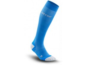 run ultralight compression socks electricblue lightgrey