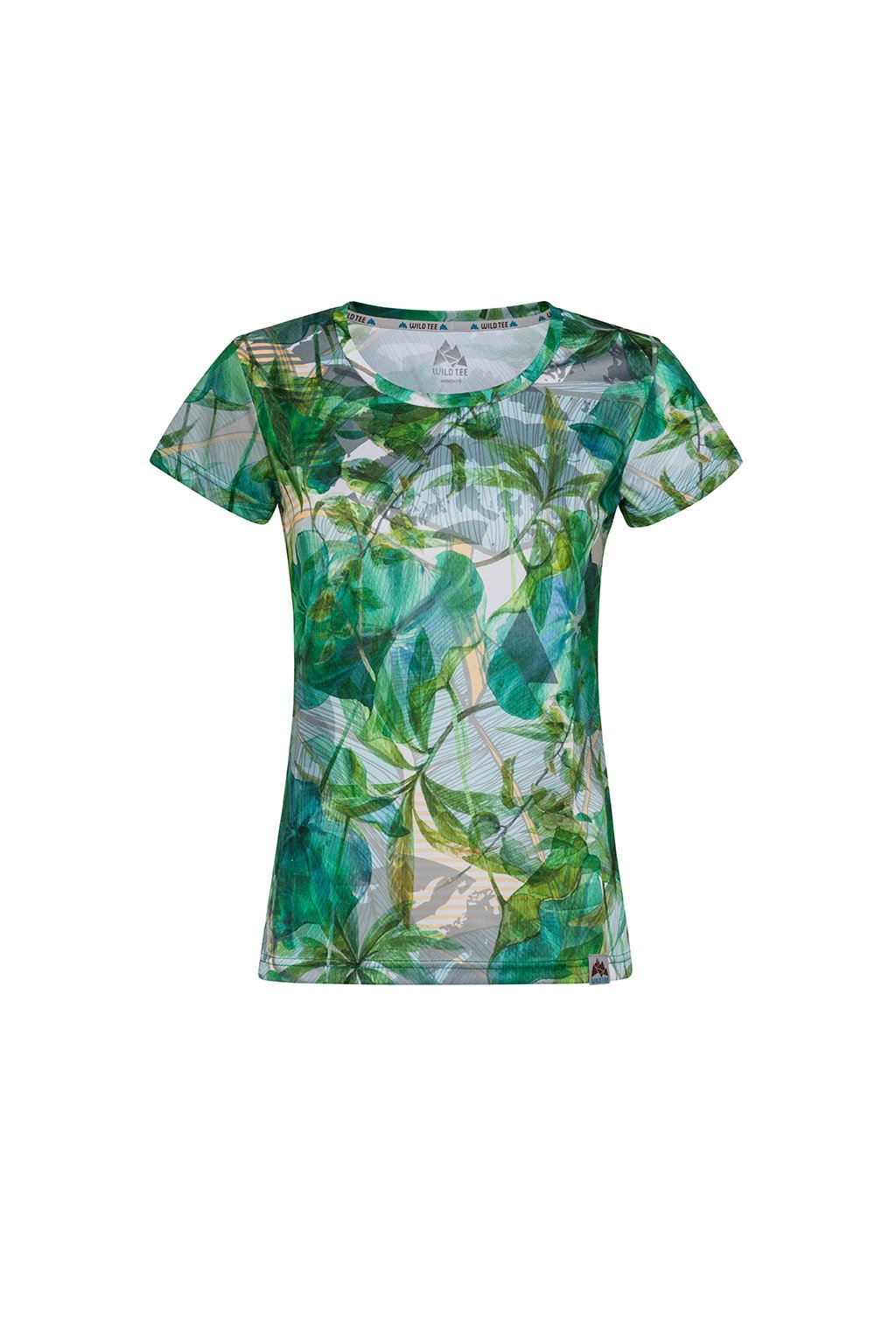 LEAVES T SHIRT WOMEN