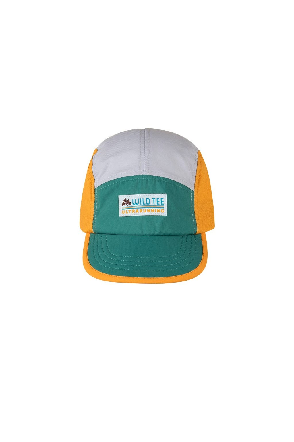 yellow green endurance hat front