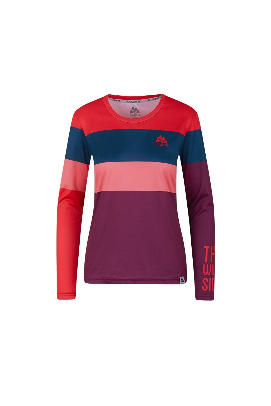 colorblock cherry women longsleeve